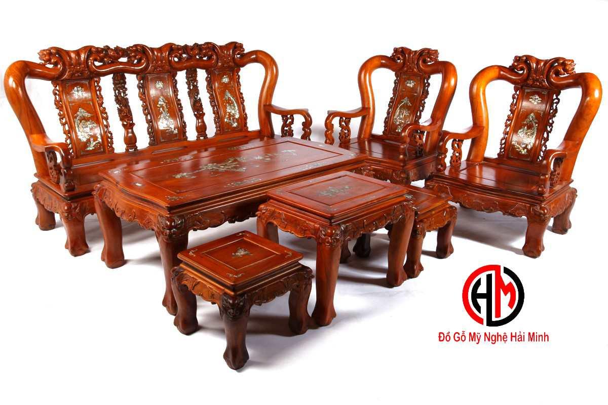 Tìm hiểu về bàn ghế gỗ Minh Đào