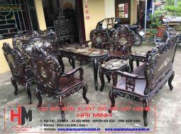 Bộ Bàn Ghế Luois Khánh Dơi 9Món