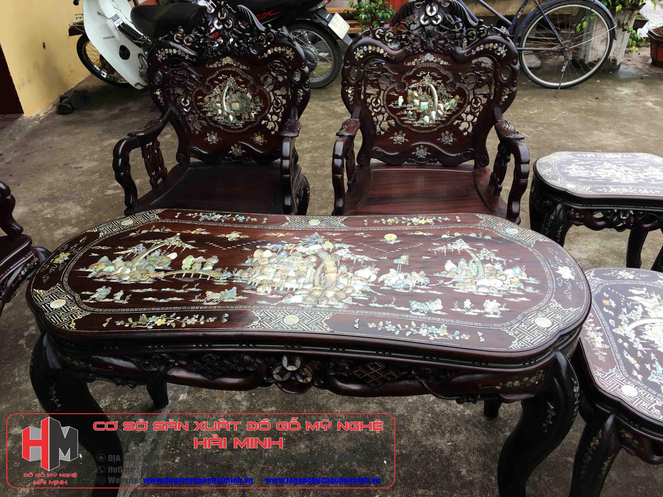 Bàn Ghế Luois Khánh Dơi