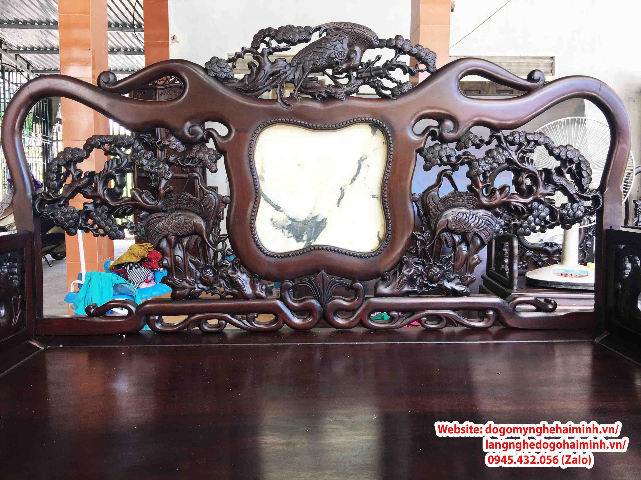 Giường Ba Thành Tùng Hạc