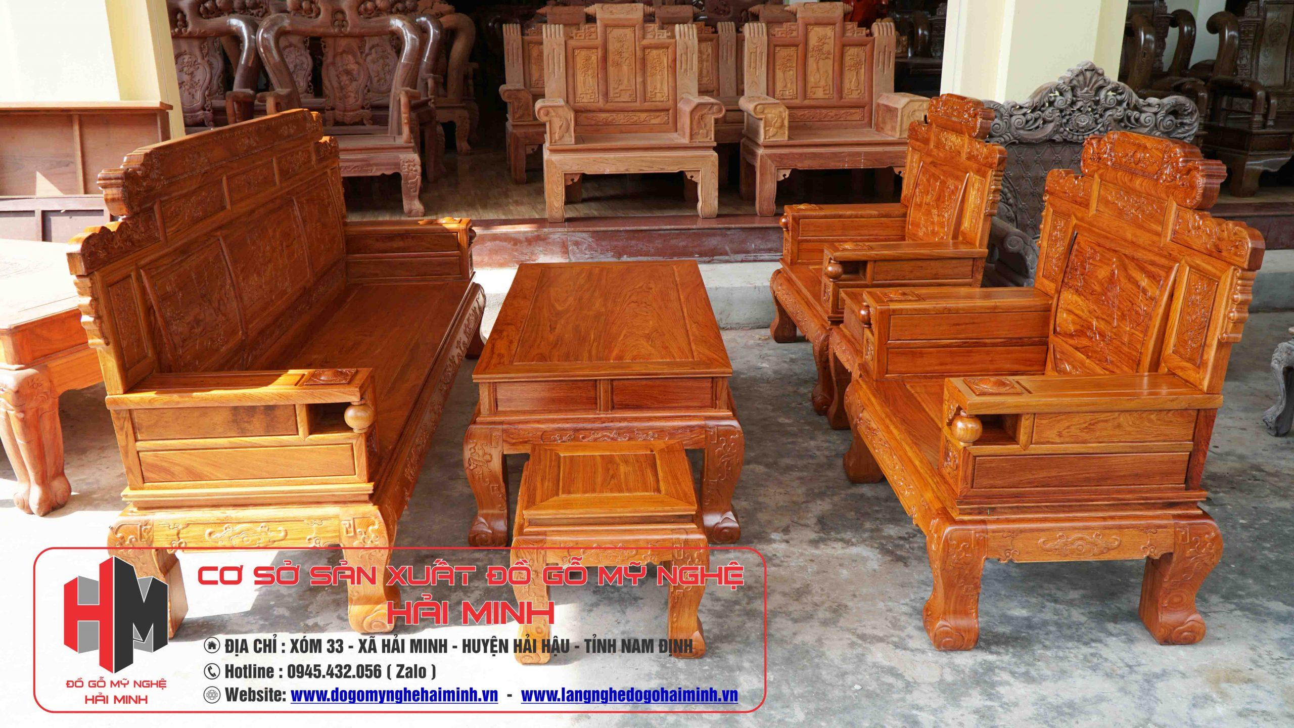 Bộ Bàn Ghế Phù Dung