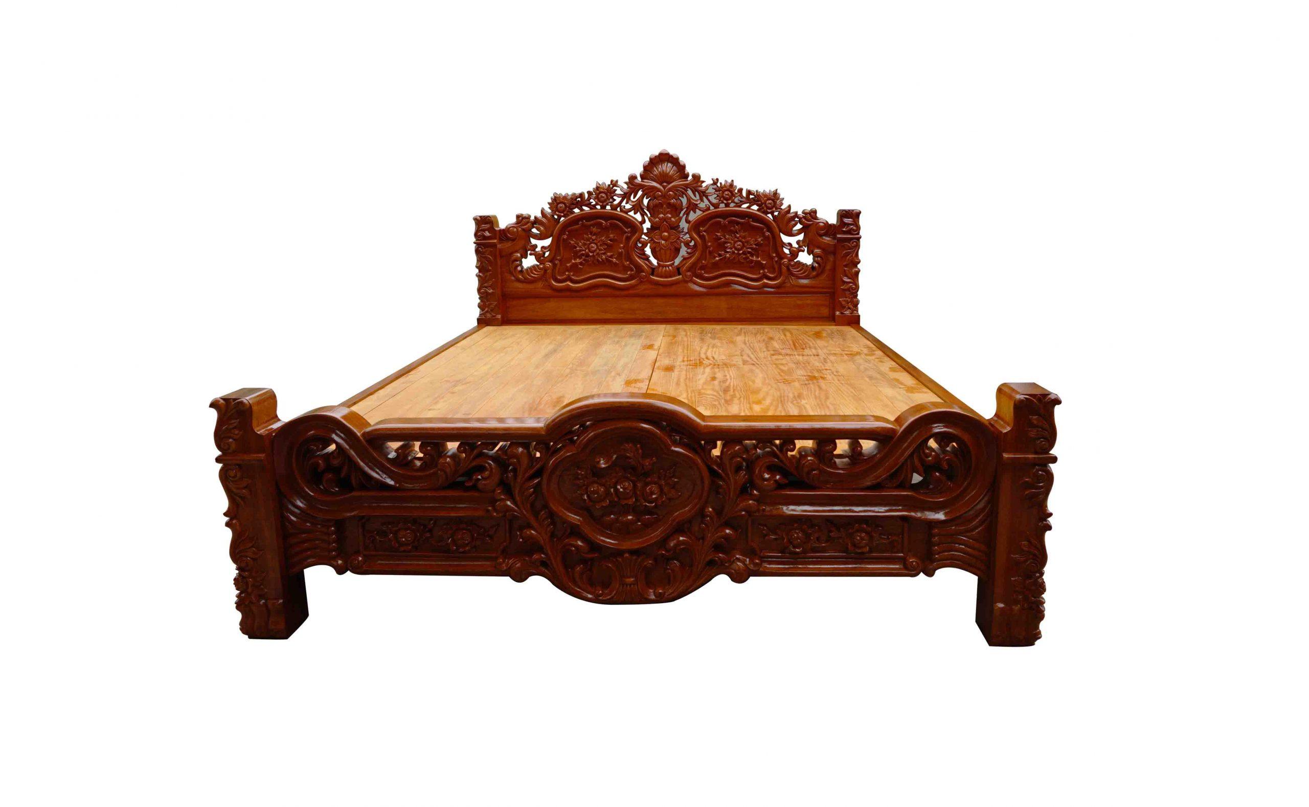 Giường ngủ gỗ Lim