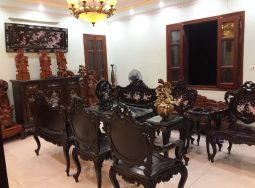 Bộ Bàn Ghế Luois Khảm Ốc 9Món