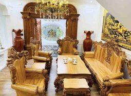 Bộ Ghế Sofa Louis Hoàng Gia 10Món